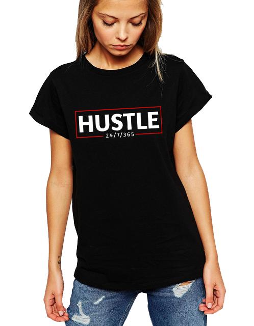 Dámské tričko Hustle Velikost: XXL
