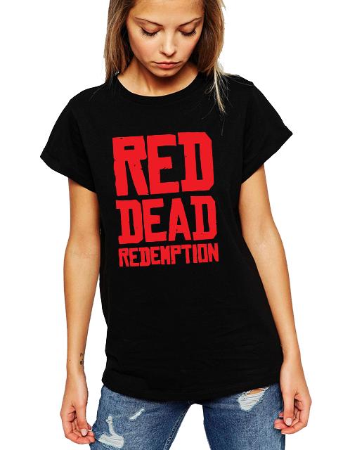 Dámské tričko Red dead redemption Velikost: XXL