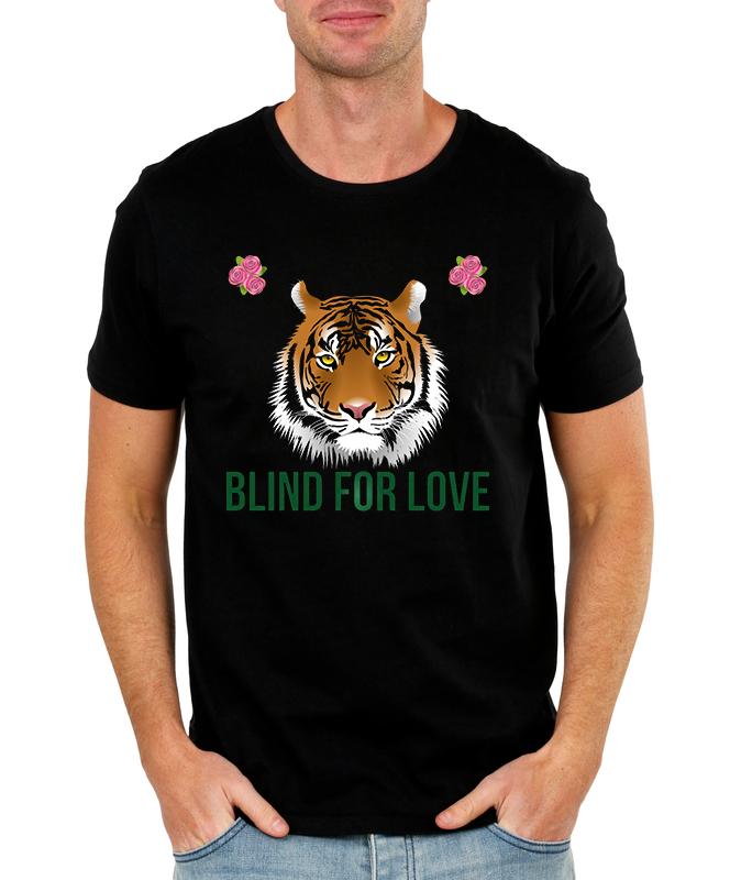 Pánské tričko Blind for love Velikost: XXL
