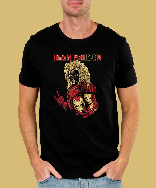 Pánské tričko Iron Maiden - Heavy Metal Velikost: XXL