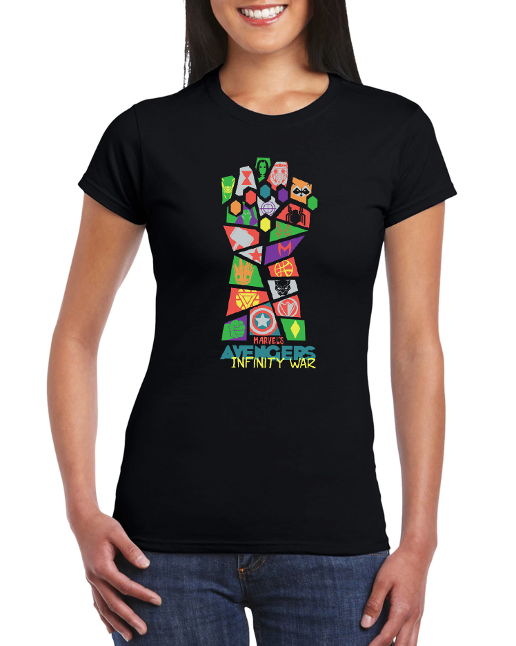 Dámské tričko Avengers Velikost: XL
