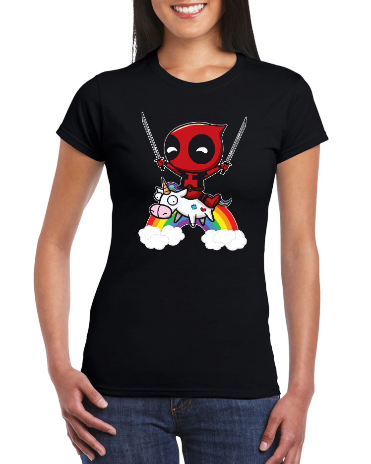 Dámské tričko Deadpool Velikost: XL
