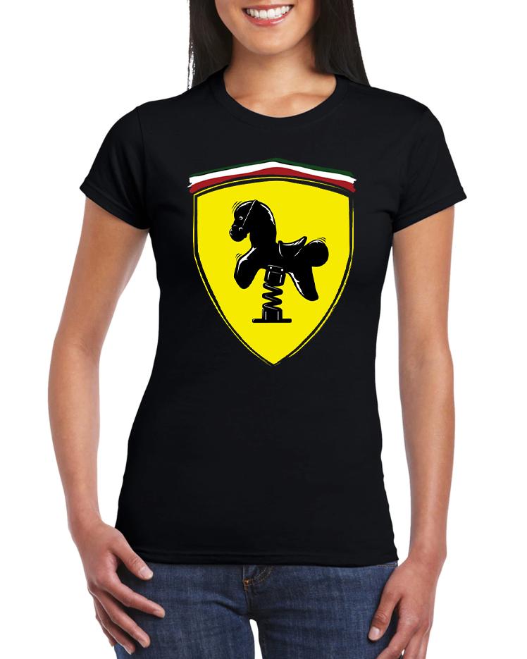 Dámské tričko Ferrari kůň Velikost: XL