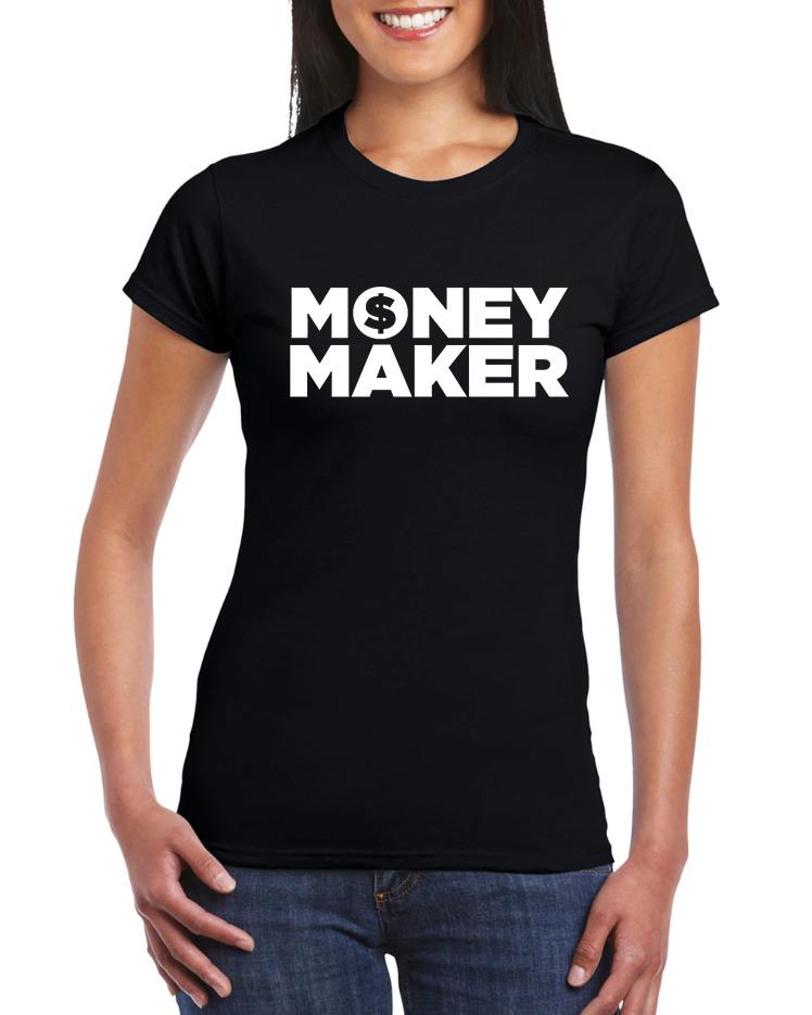 Dámské tričko Money Maker Velikost: XL