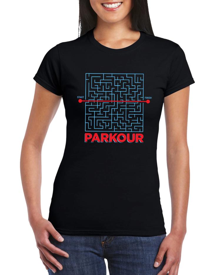 Dámské tričko Parkour Velikost: XL