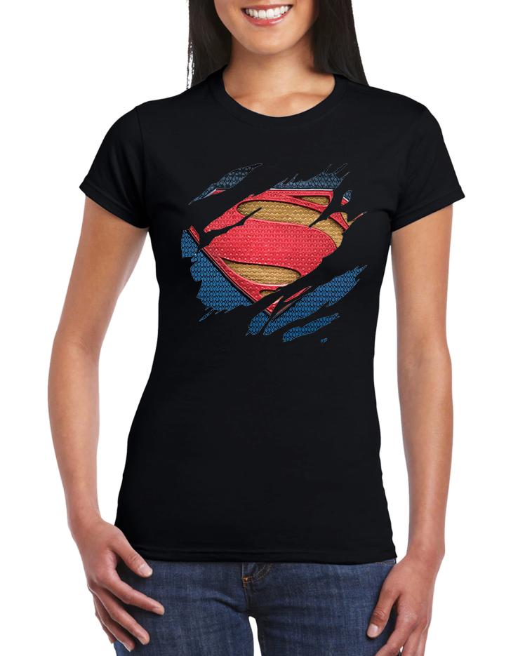 Dámské tričko Superman Velikost: S