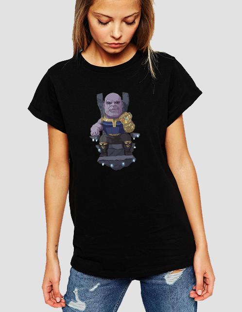 Dámské tričko Thanos - Avengers 2 Velikost: XL