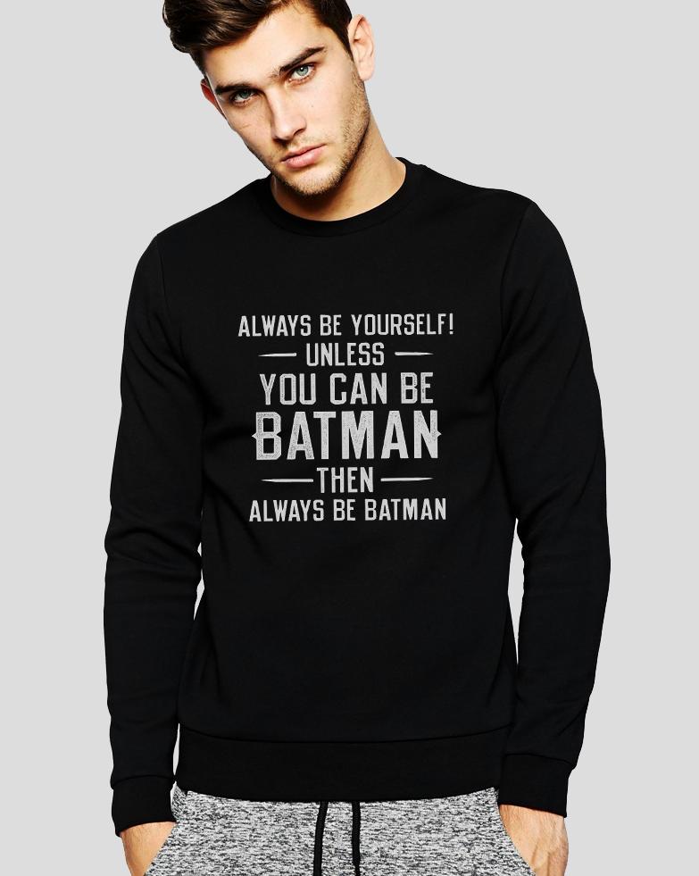 Mikina Batman Typ: Bez Kapuce, Velikost: XXL