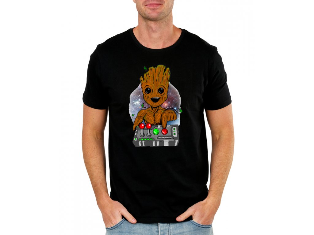 bf80dfdc1f86 Pánske tričko Groot - Strážci galaxie - FRESHGEAR.sk