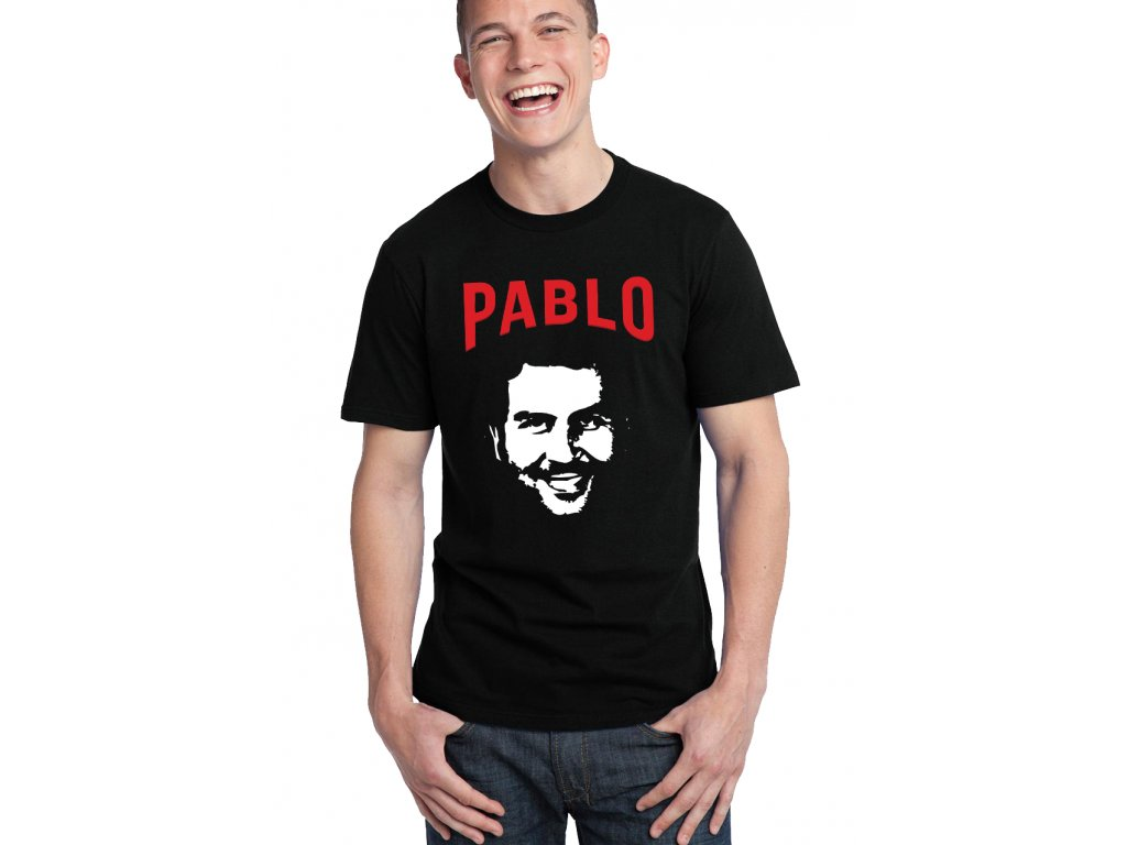 b2e92e037d2d Pánske tričko Pablo Escobar - FRESHGEAR.sk