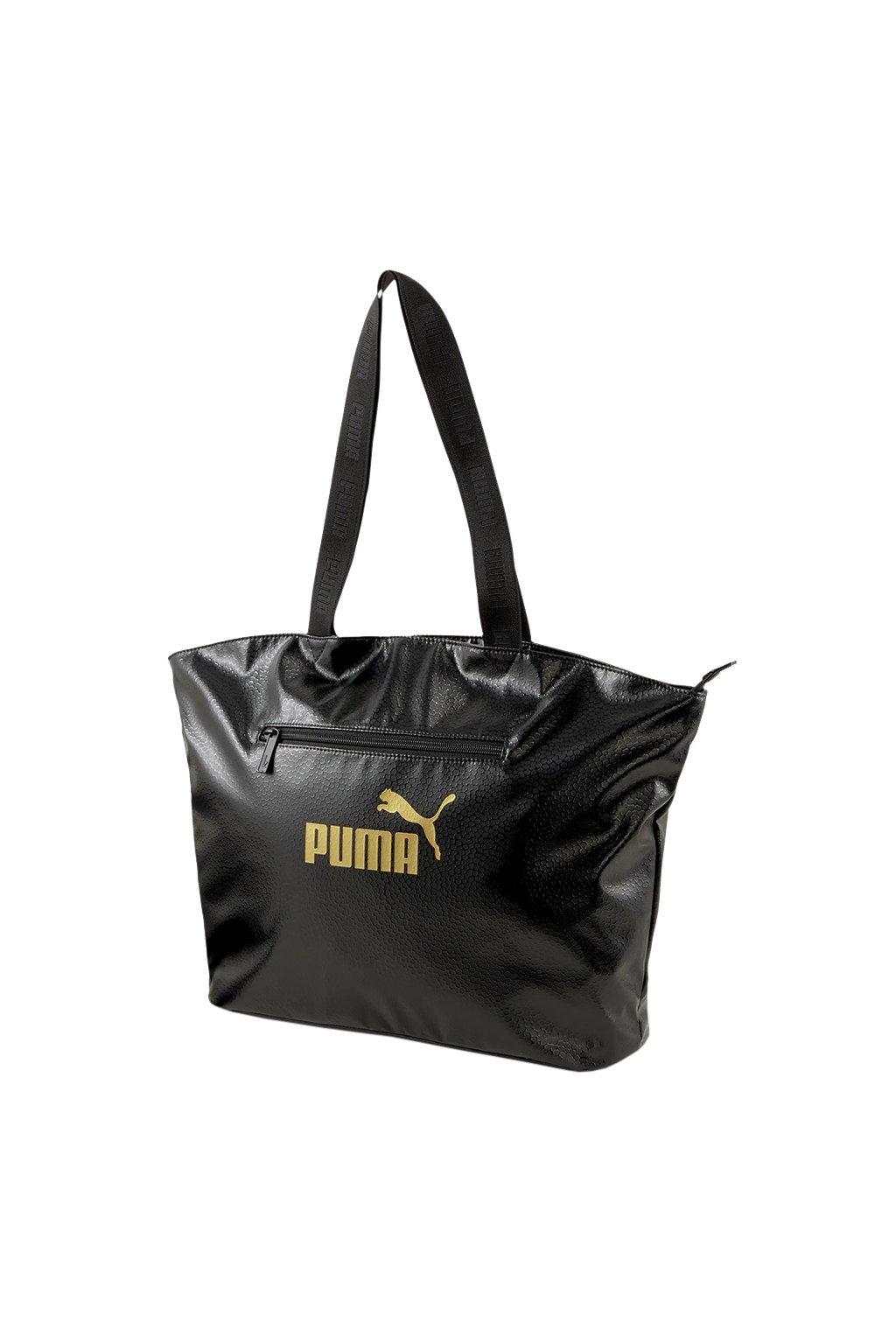 Dámska taška Puma Core Up Large Shopper OS čierna 78309 01