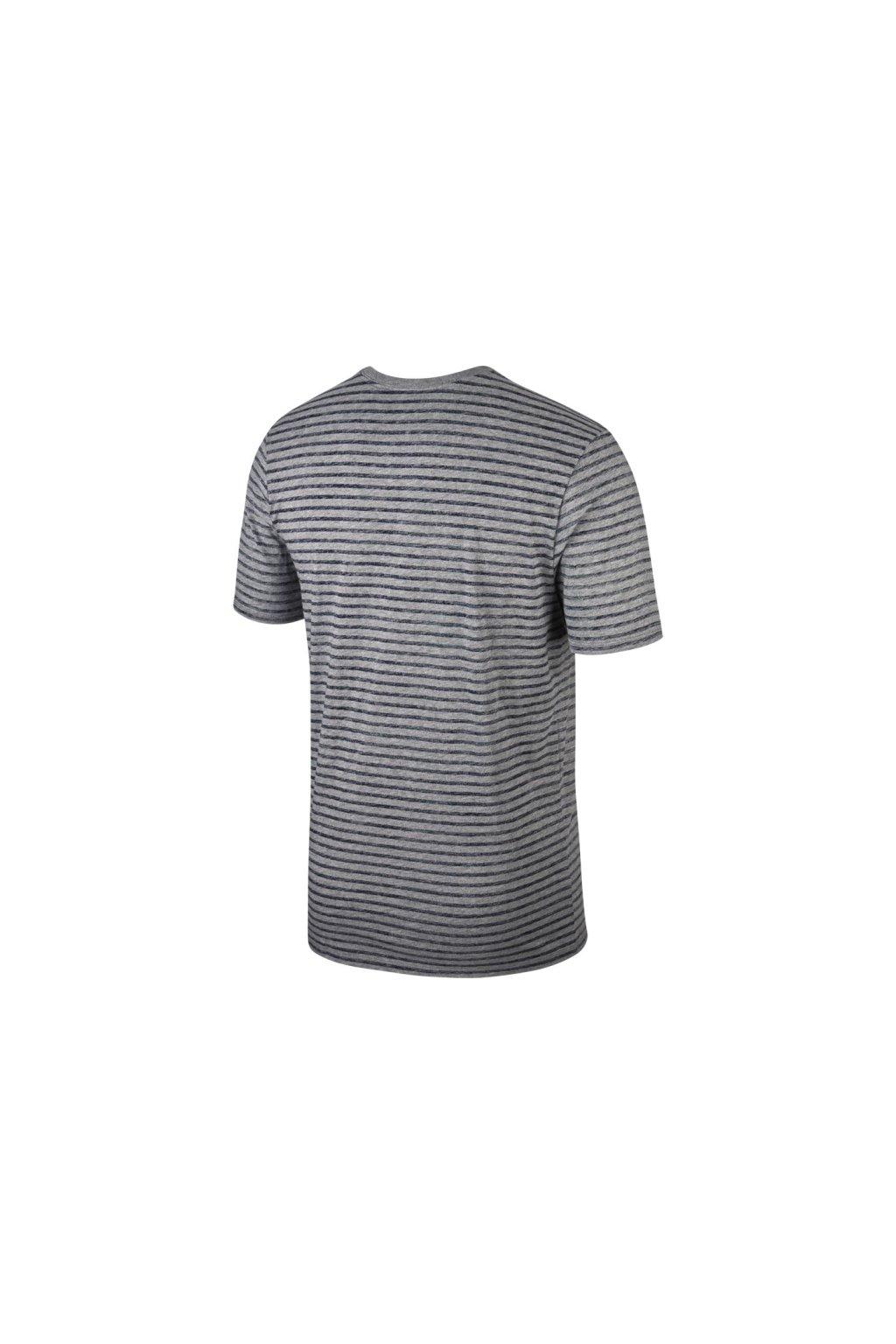 NIKE Pánske pruhované tričko 927456-091 - Fresh sport 73380bc1cf2