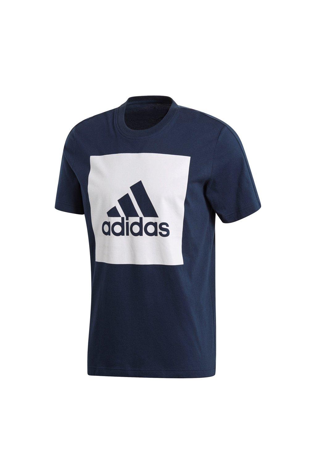Pánske tričko Adidas ESSENTIALS BIG LOGO / tmavo modré S98726