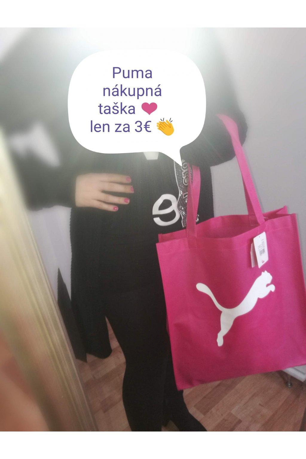 23a90b5f63 ... PUMA nákupná taška
