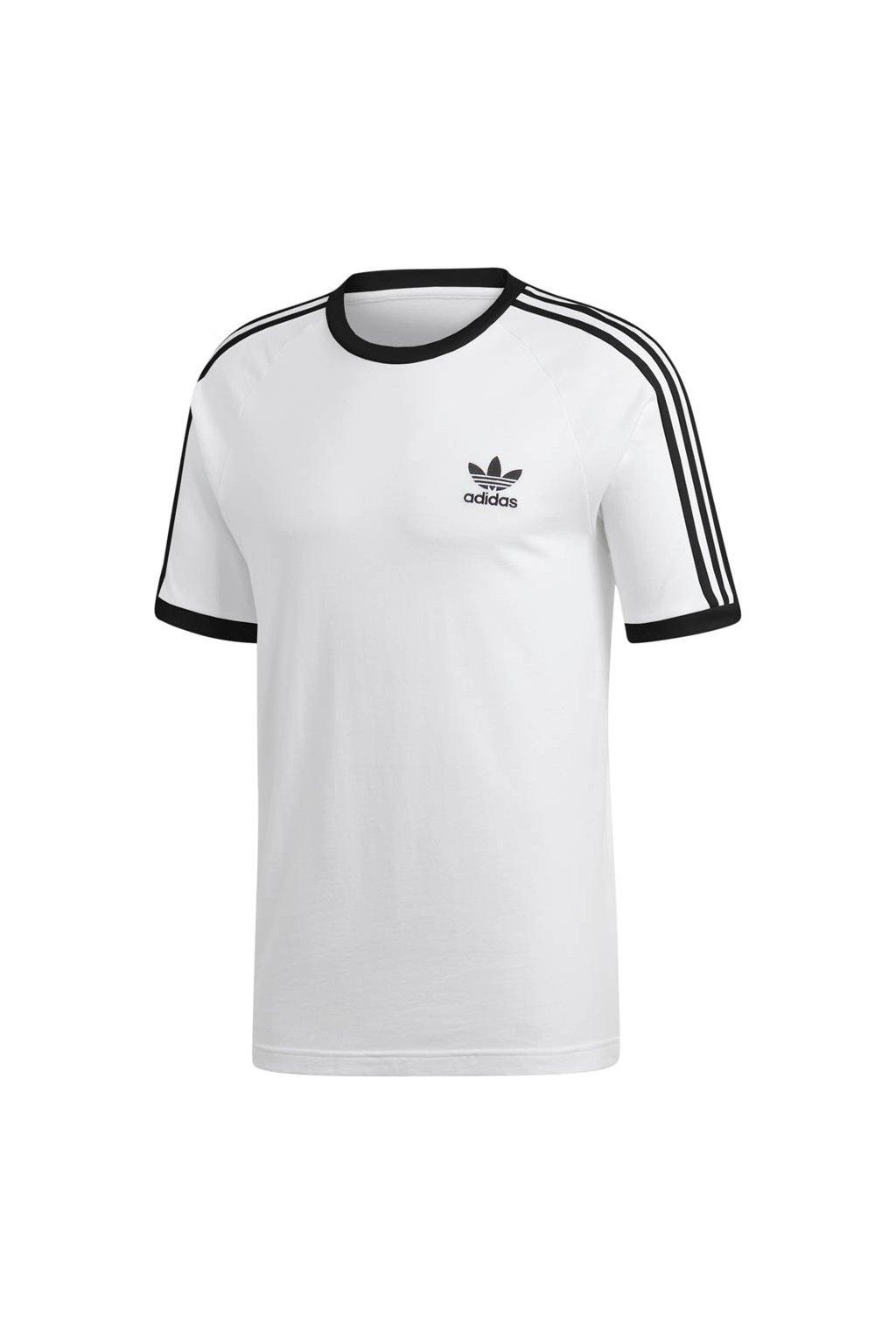 Adidas Originals pánske tričko 3 Stripes Tee white CW1203