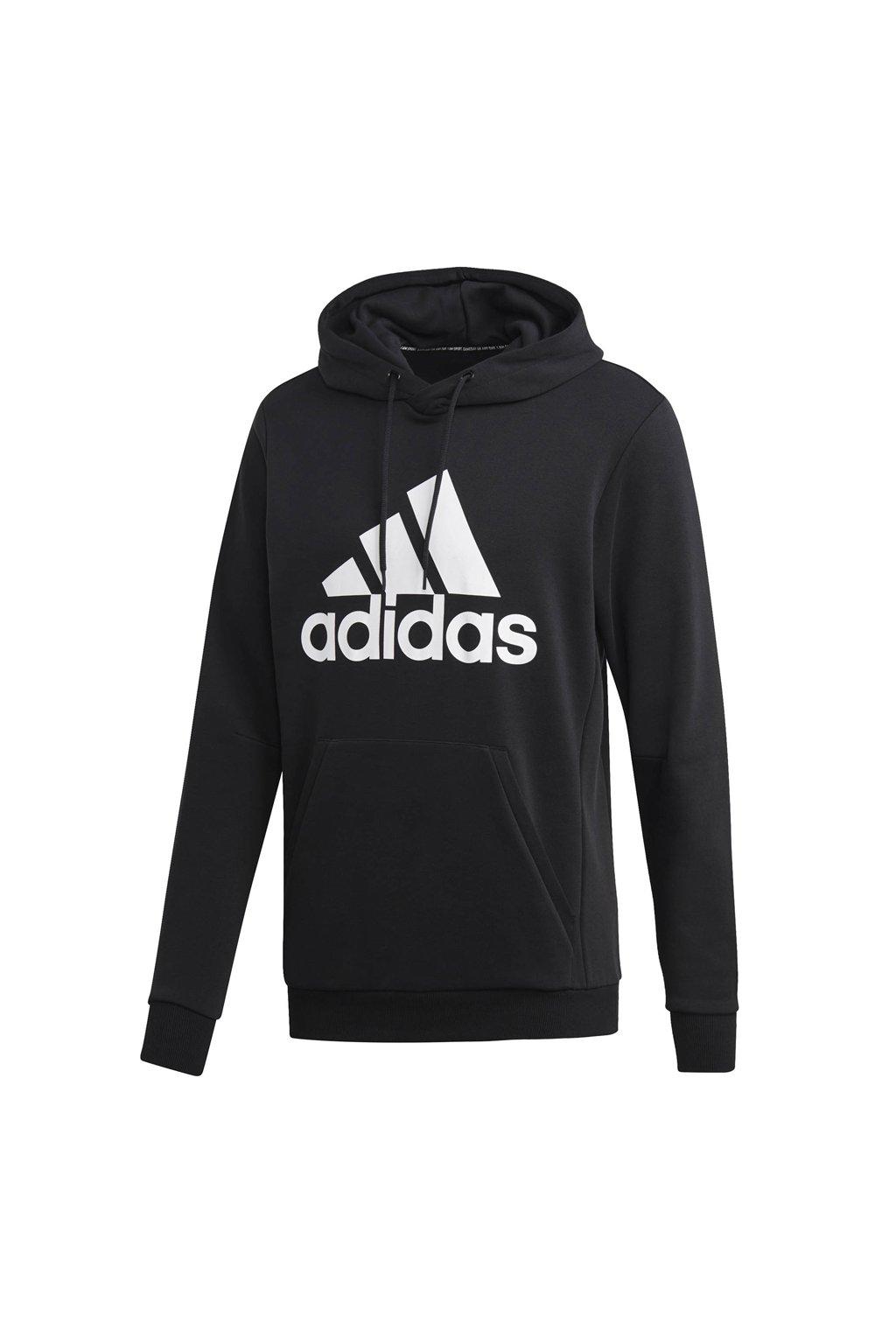 Pánska mikina Adidas MH BOS PO FT / čierna DQ1461