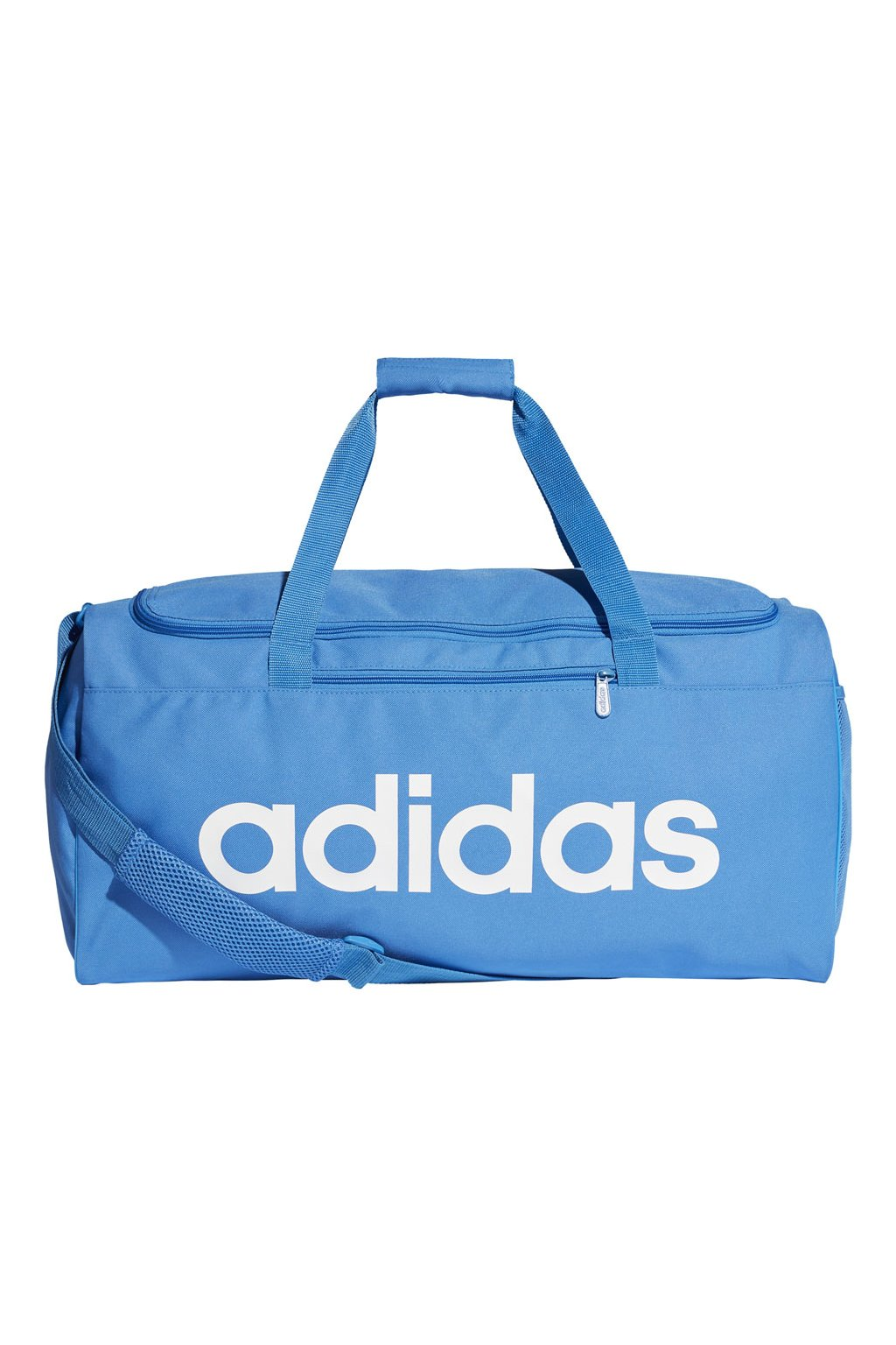 Taška Adidas Linear Core Duffel M modrá DT8621