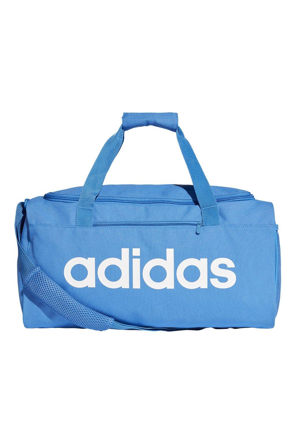 Taška Adidas Linear Core Duffel S modrá DT8623