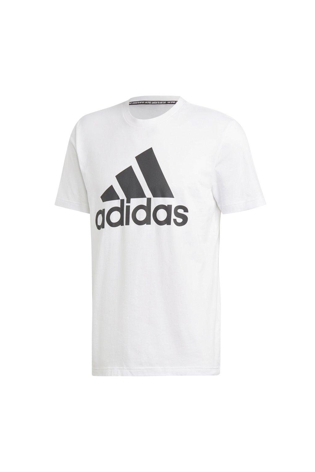 Pánske tričko Adidas MH BOS biele DT9929