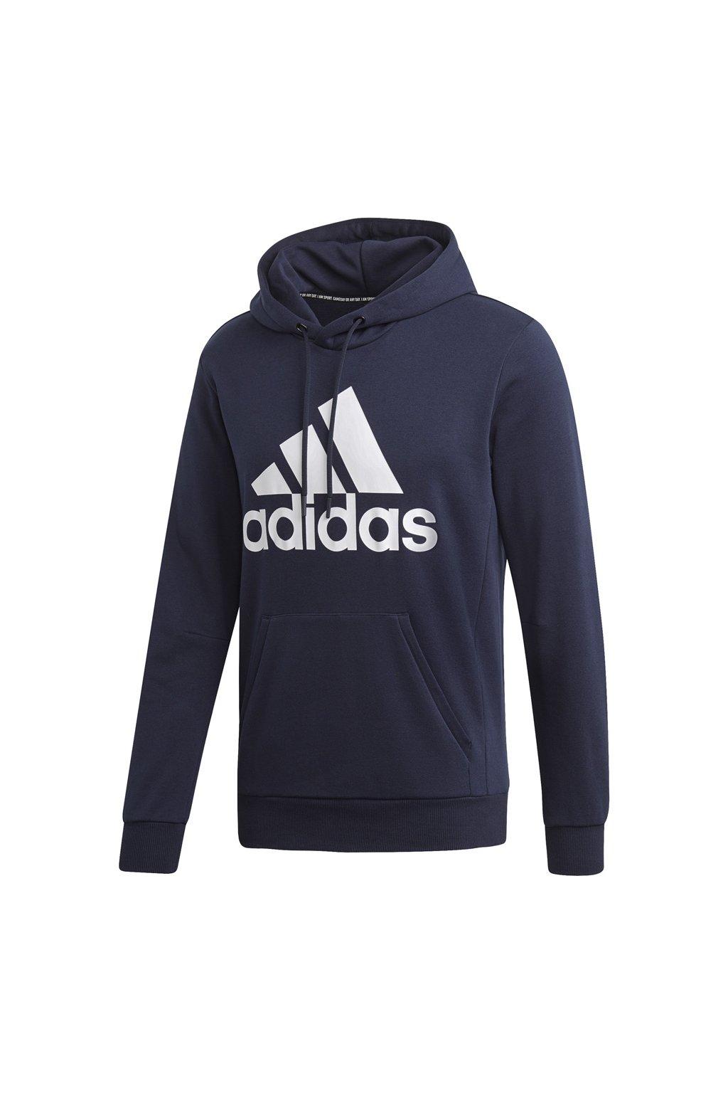 Pánska mikina Adidas MH Bos PO FT / námornícka modrá DT9943