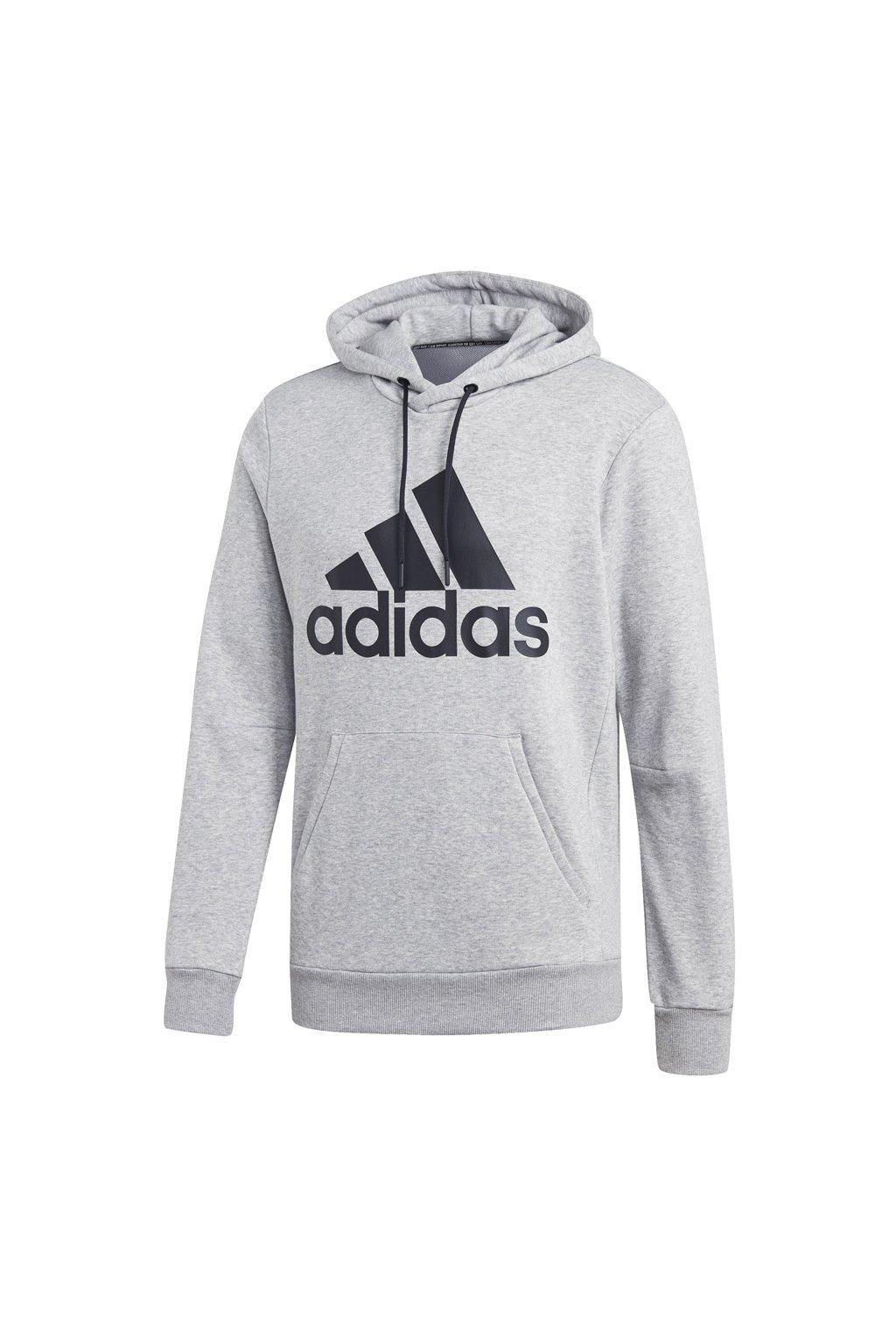 Pánska mikina Adidas MH Bos PO FT šedá DT9947