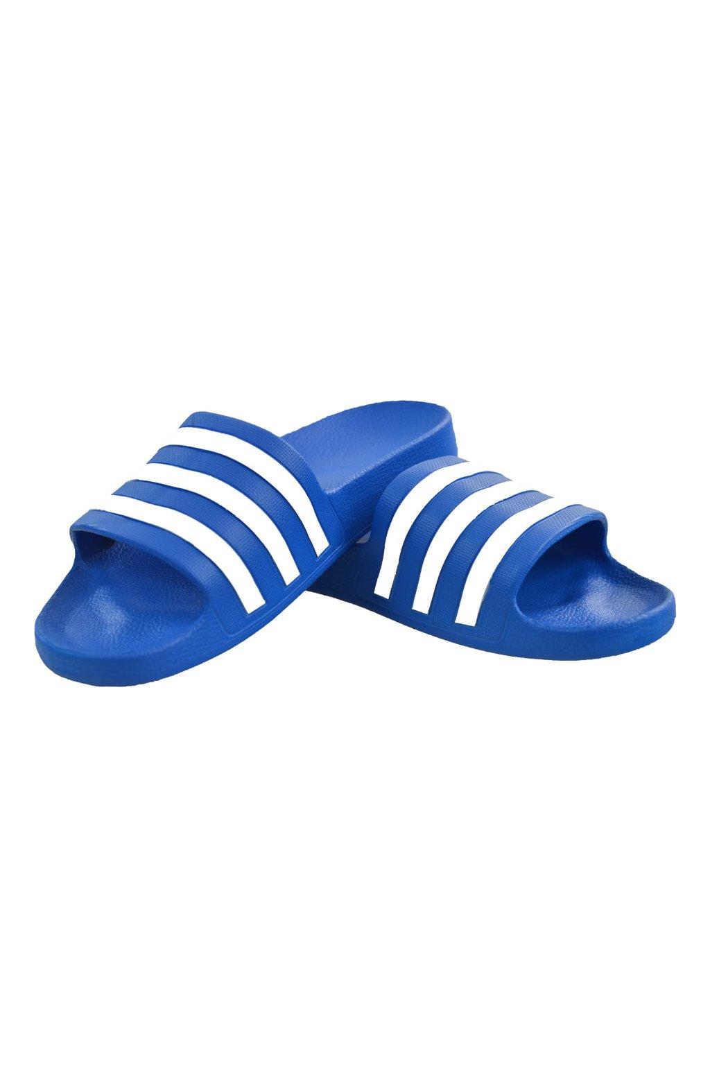 Šľapky Adidas Adilette Aqua blue F35541