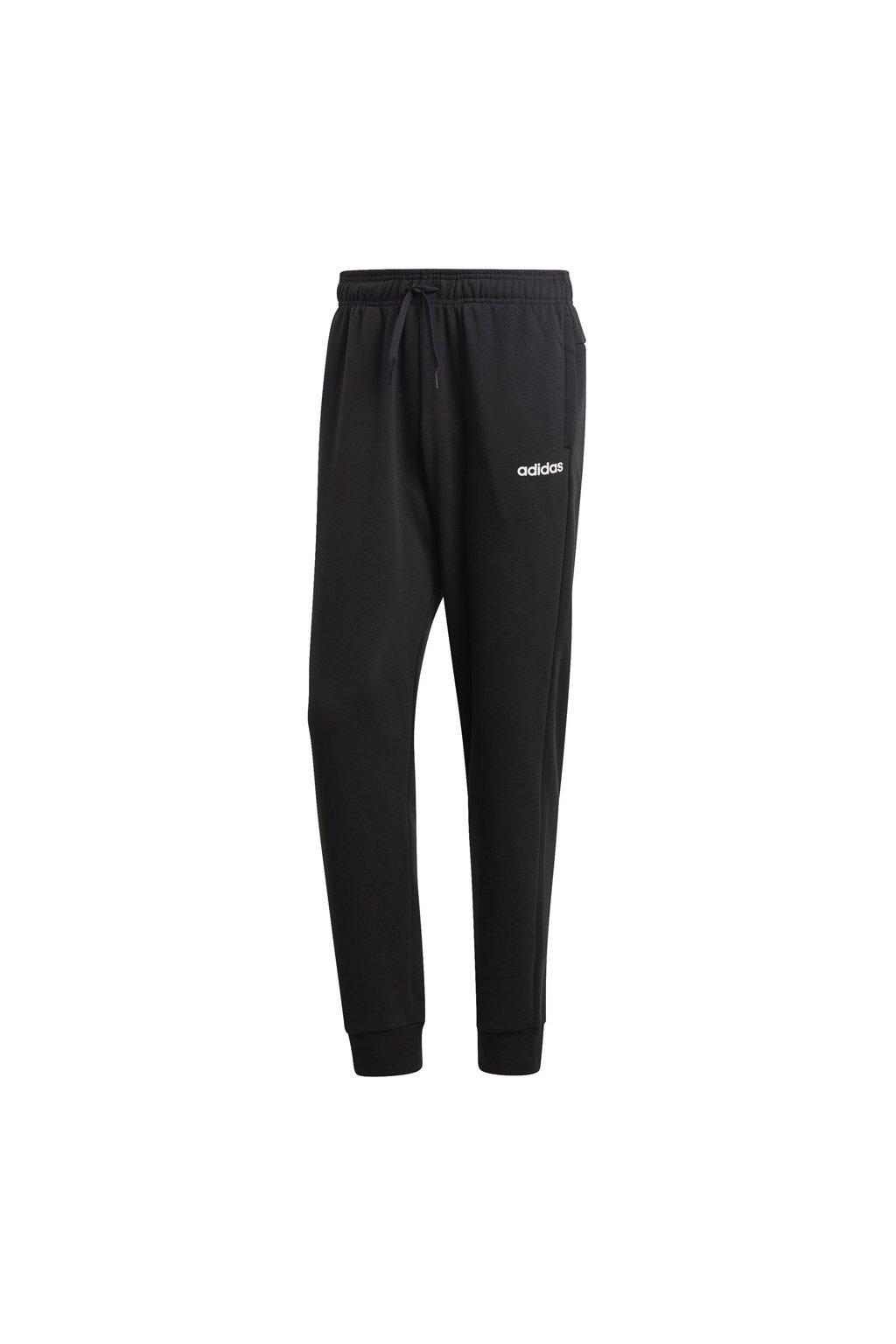 Pánske tepláky Adidas Essentials Plain Slim Pant FT čierne DU0372