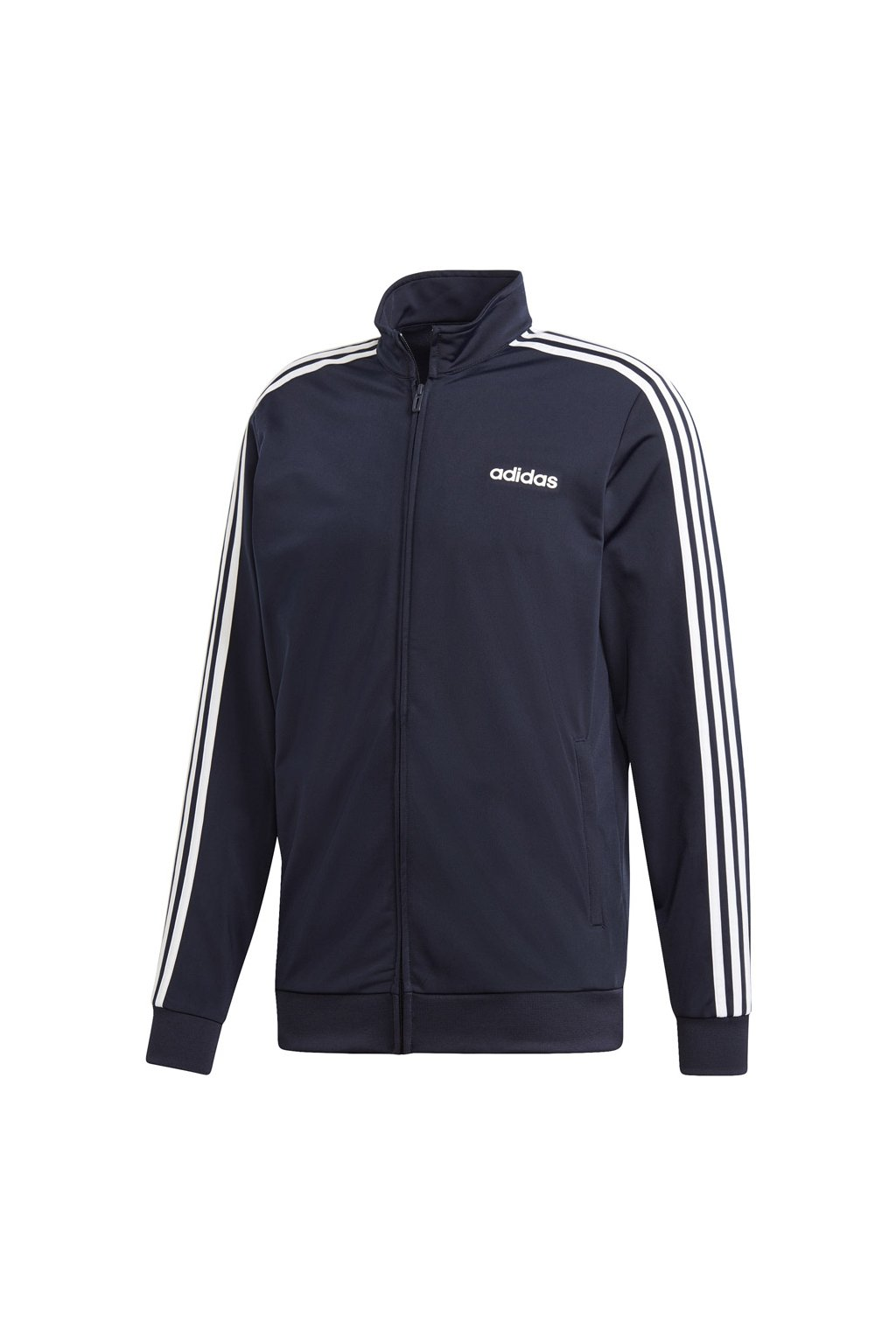 Pánska mikina Adidas Essentials 3 Stripes Tricot Track Top / tmavo modrá DU0445