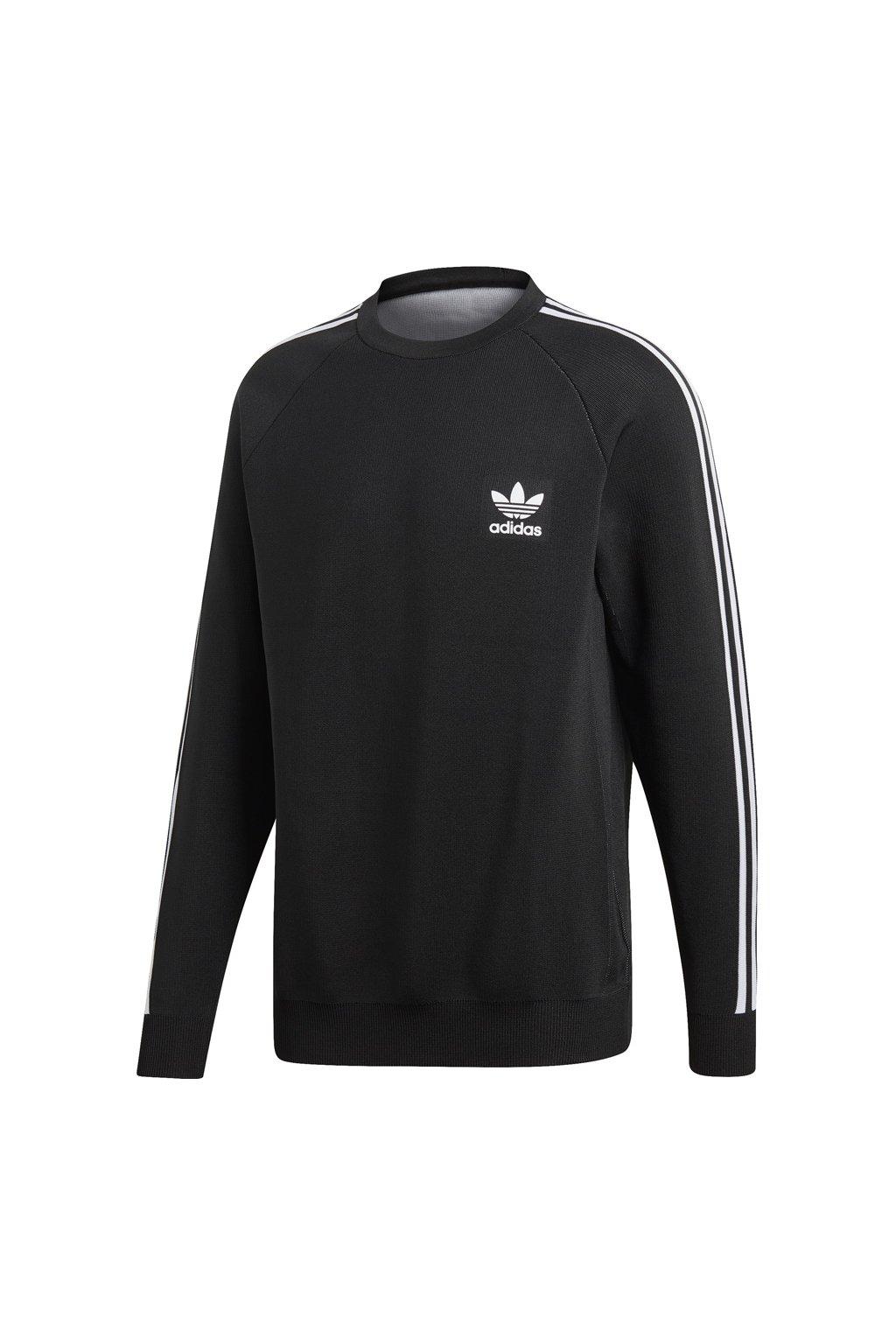 Pánska mikina Adidas Knit Crew black DH5754