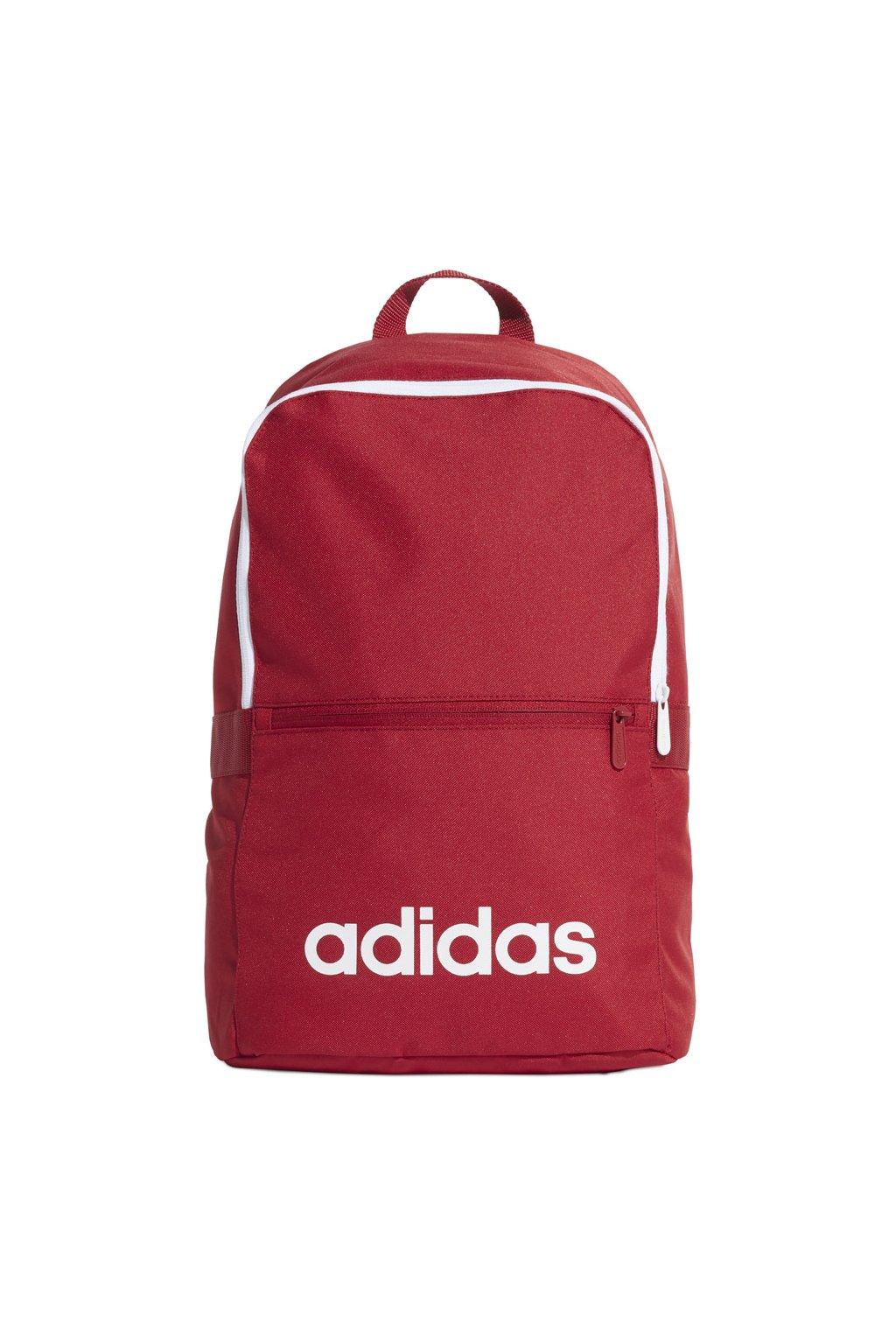 Batoh adidas Linear Classic BP Daily červený ED0290 24L
