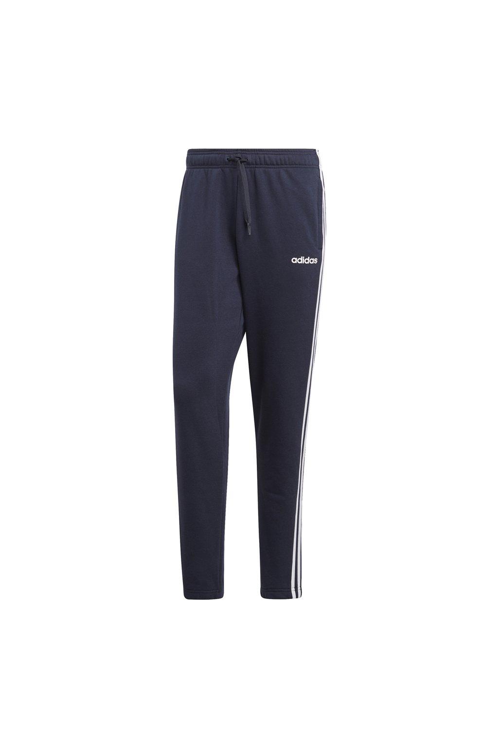Pánske tepláky Adidas Essentials 3S T Pant FT tmavo modré DU0460