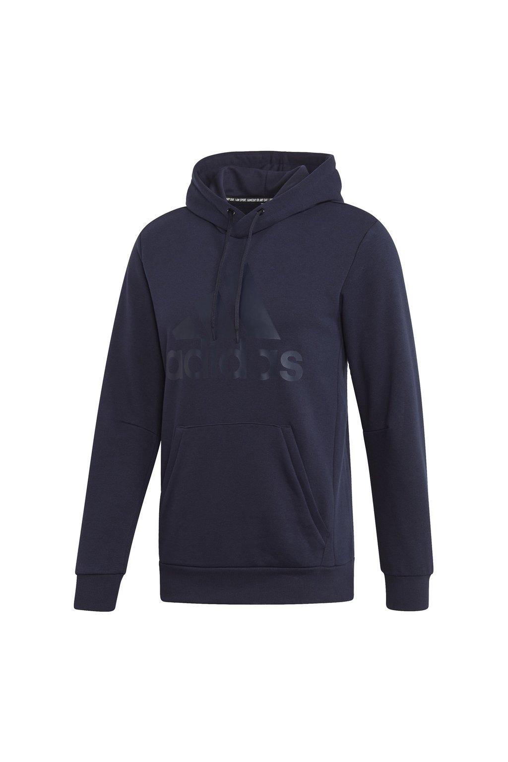 Pánska mikina Adidas MH Bos PO FT, námornícka modrá mikina EB5247