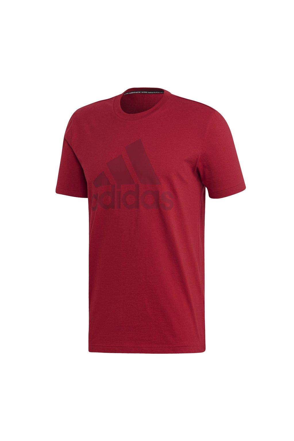 Pánske tričko Adidas MH Bos Tee červené EB5244