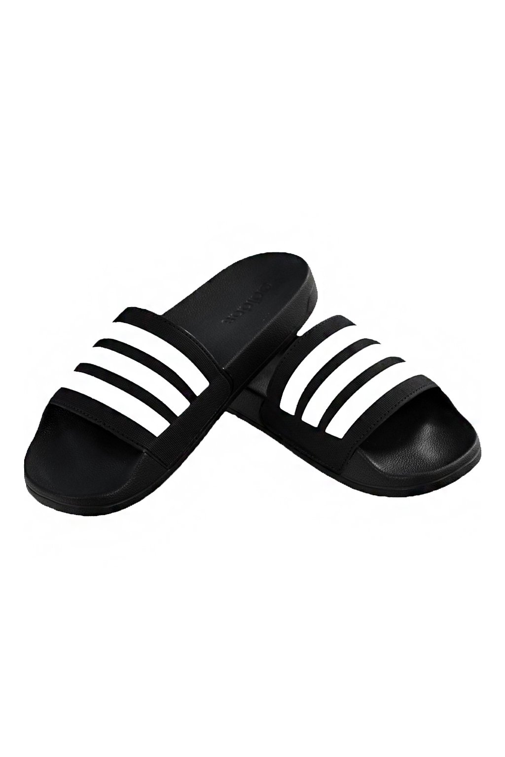Šľapky Adidas Adilette Cloudfoam Plus Stripes čierna AP9971