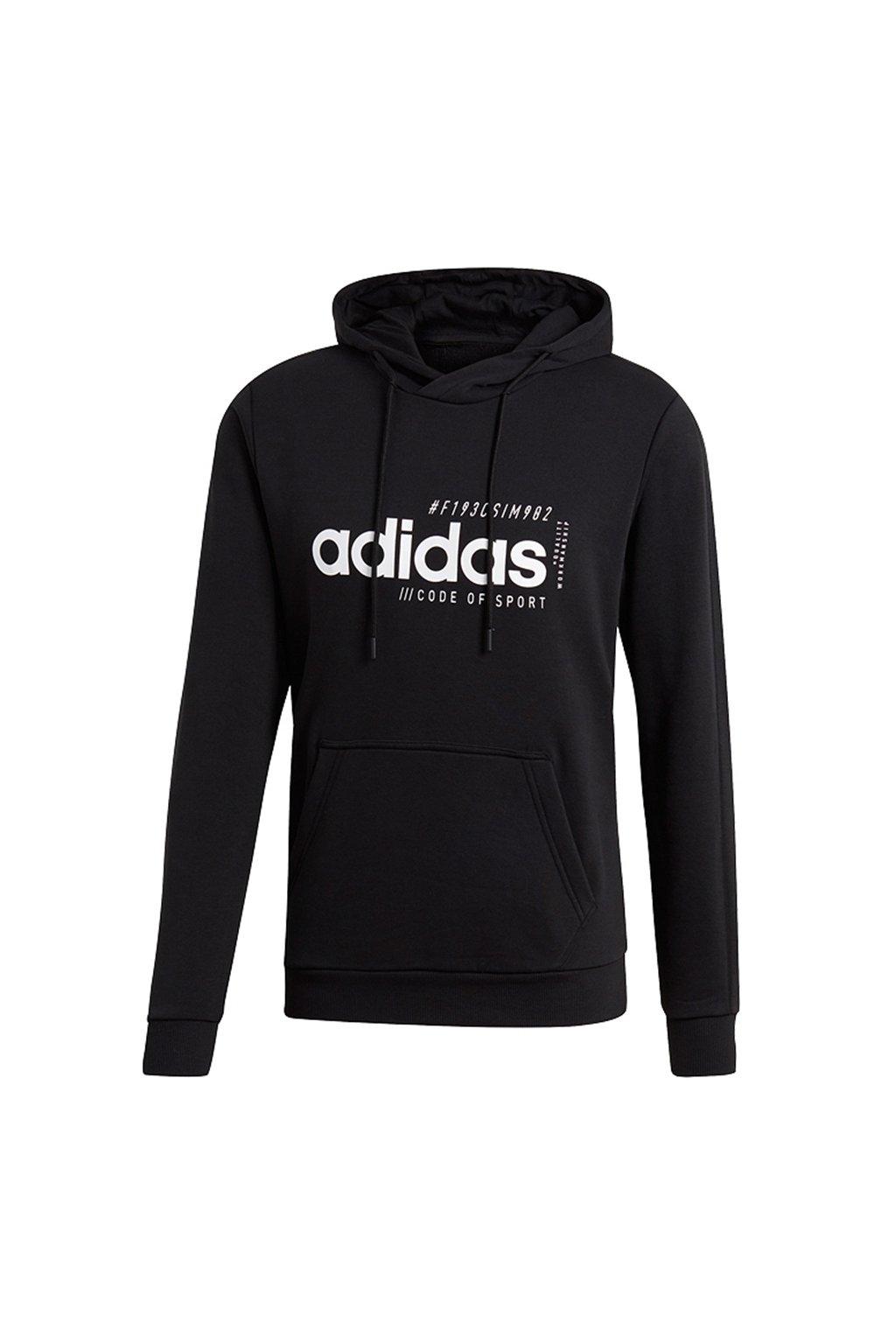 Pánska mikina Adidas M Briliant Basics, čierna EI4622