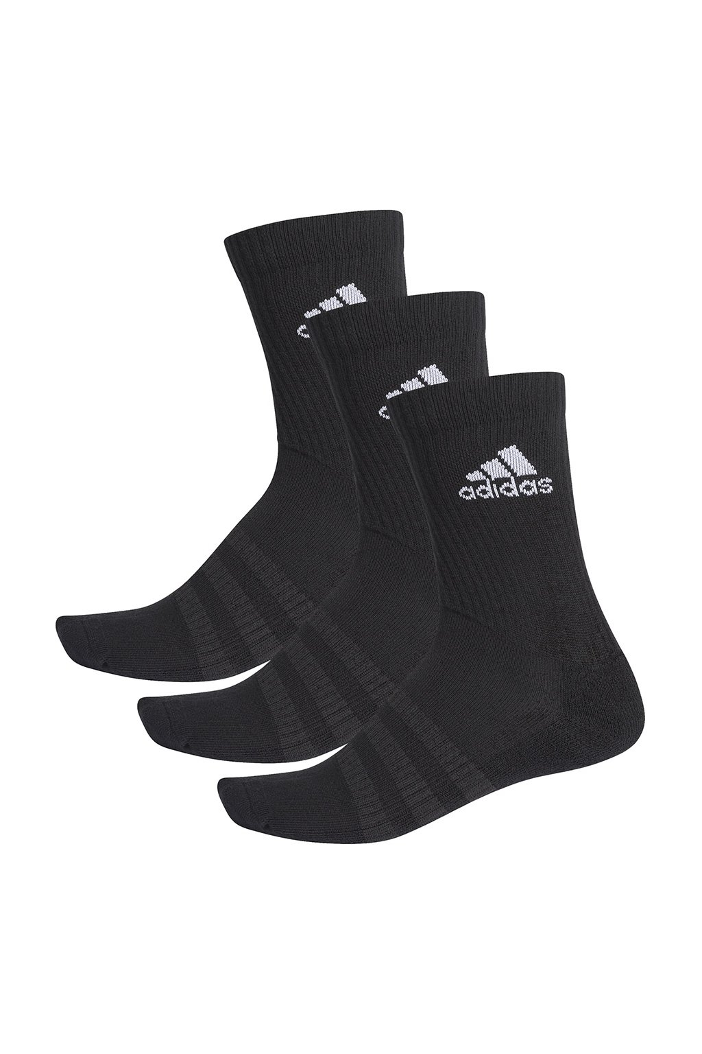 Ponožky Adidas Cushlined Crew 3PP čierne DZ9357