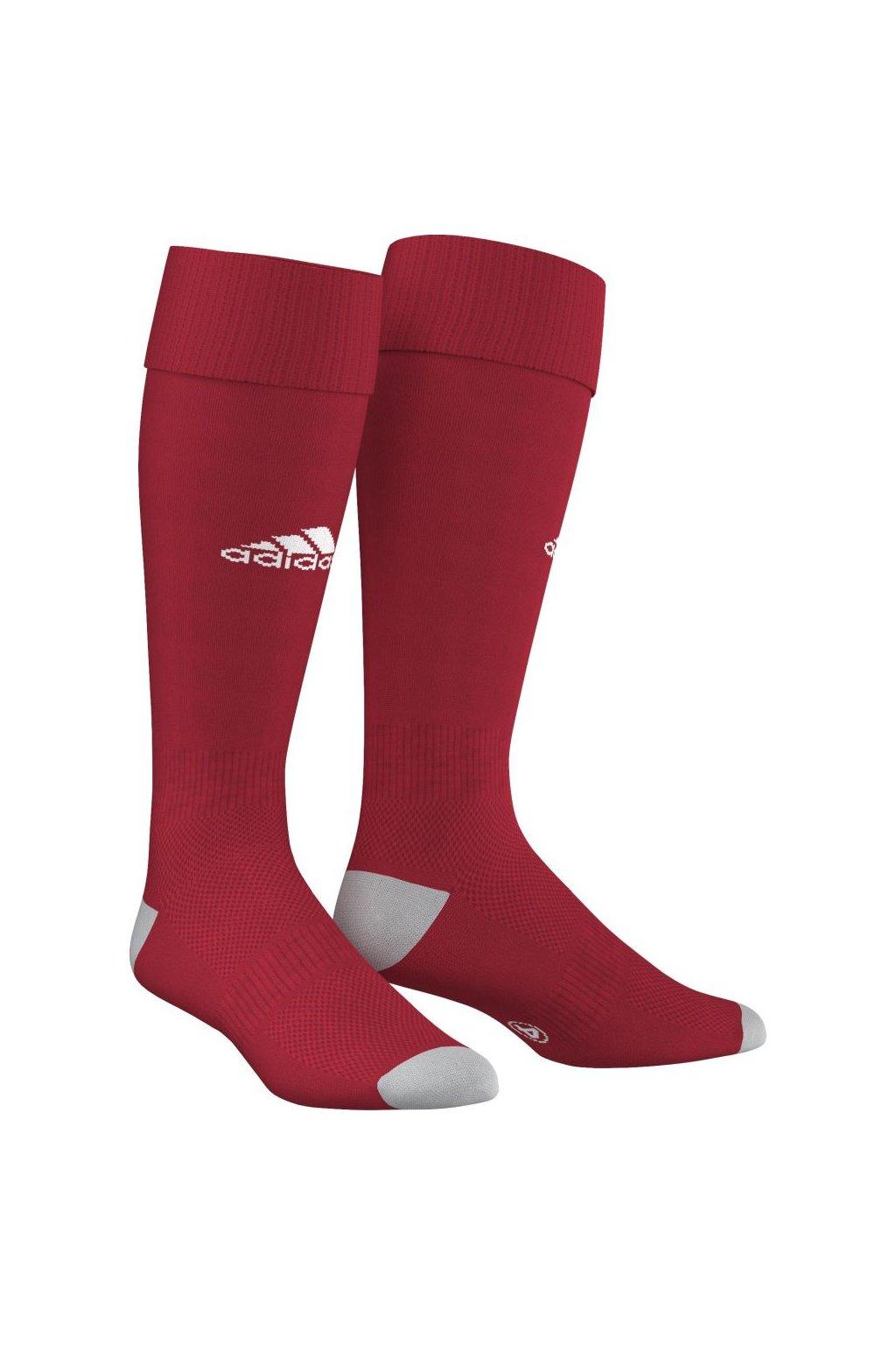 Futbalové ponožky Adidas Milano 16, červené AJ5906 / E19298