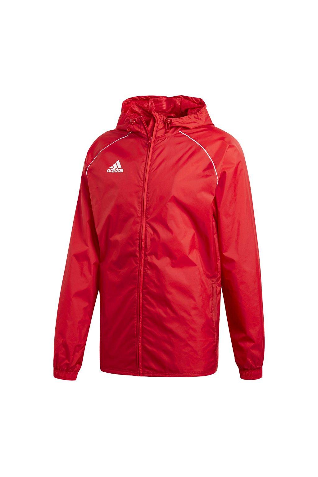 Pánska bunda Adidas Core 18 Rain red CV3695