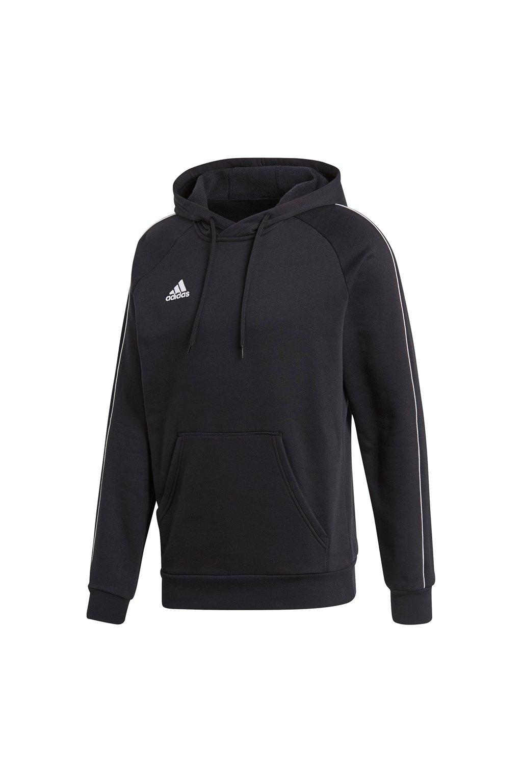 Adidas Core 18 Hoody pánska mikina čierna CE9068