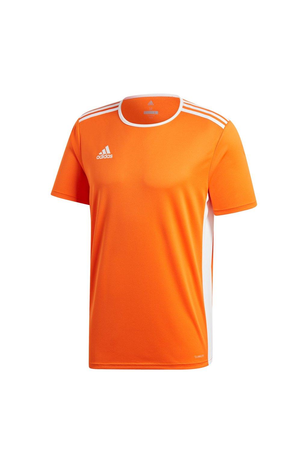 Detské tričko Adidas Entrada 18 Jersey JUNIOR oranžové CD8366