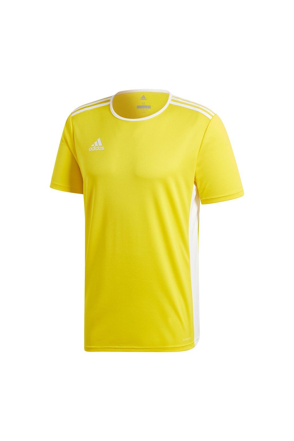 Detské tričko Adidas Entrada 18 Jersey JUNIOR žlté CD8390