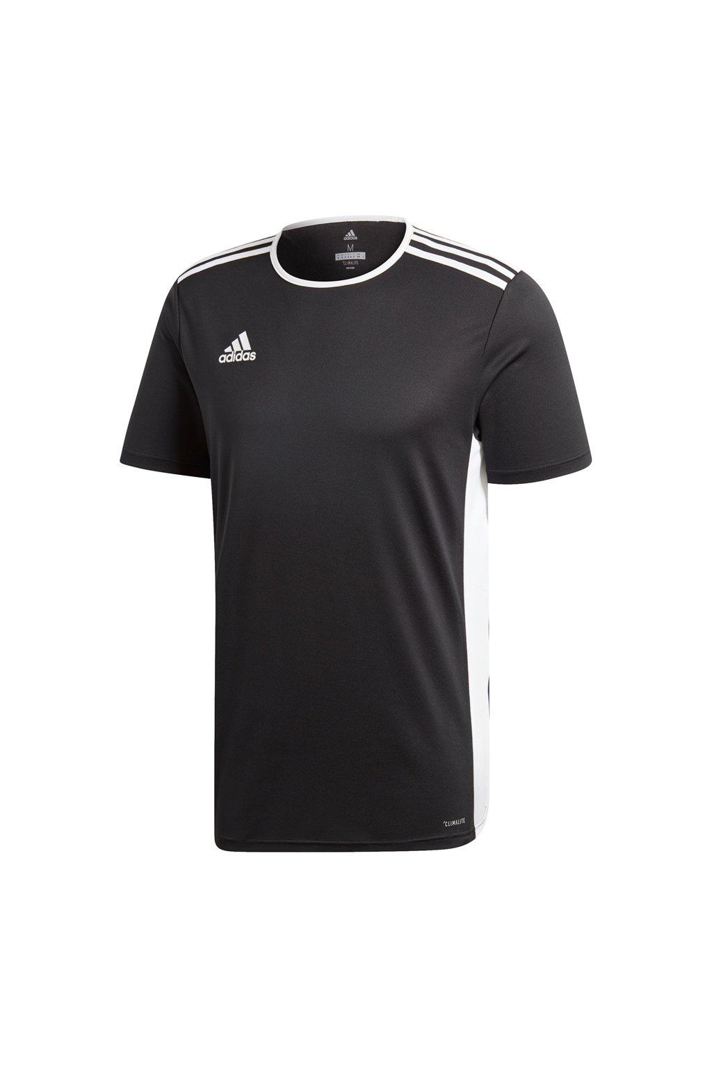 Adidas Entrada 18 Jersey pánske tričko čierne CF1035