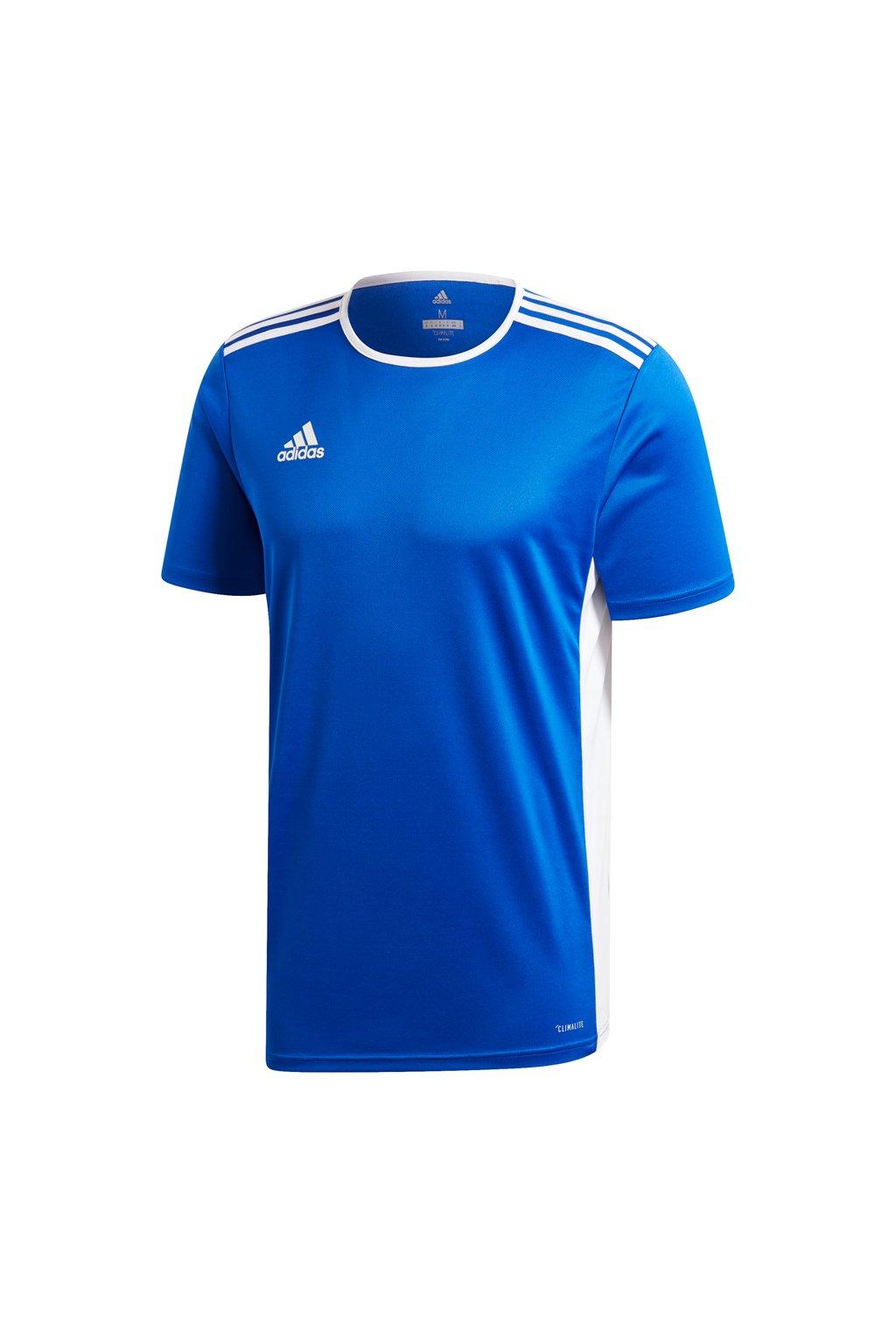 Detské tričko Adidas Entrada 18 Jersey JUNIOR modré CF1037