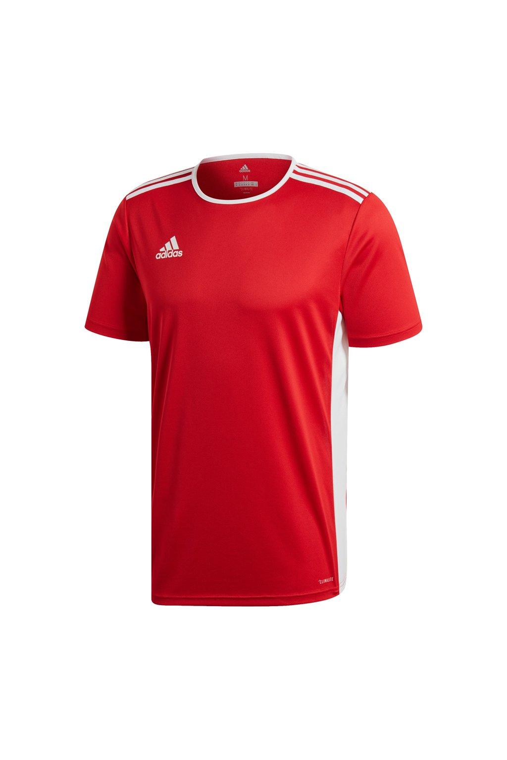 Detské tričko Adidas Entrada 18 Jersey JUNIOR červené CF1038