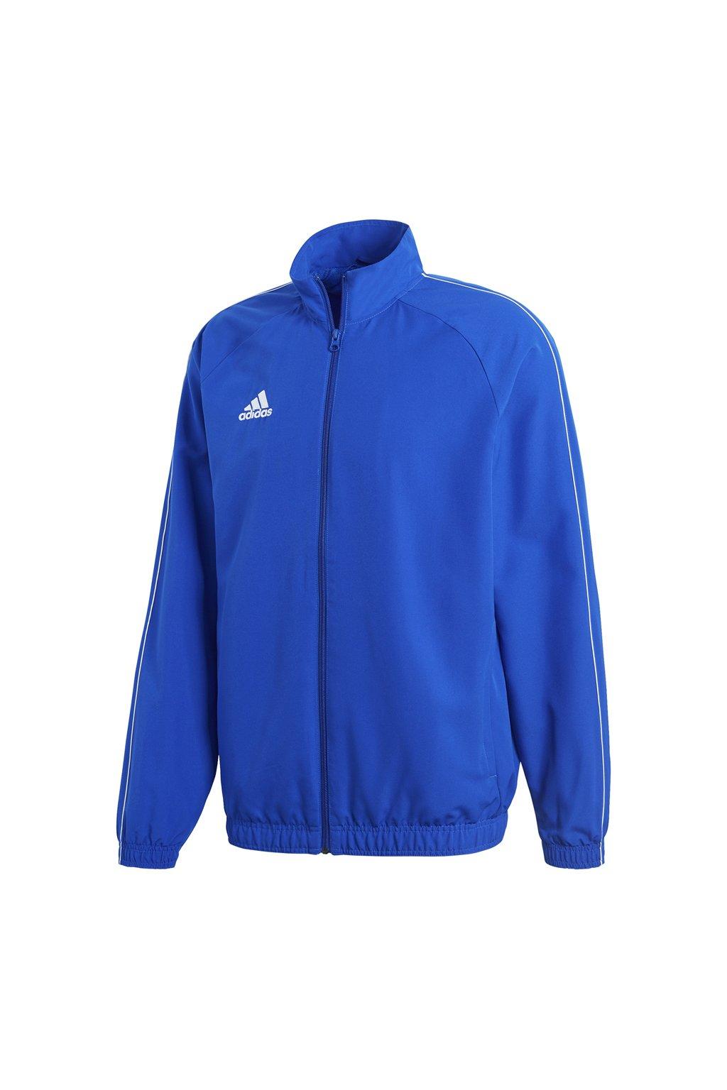 Pánska bunda Adidas Core 18 modrá CV3685