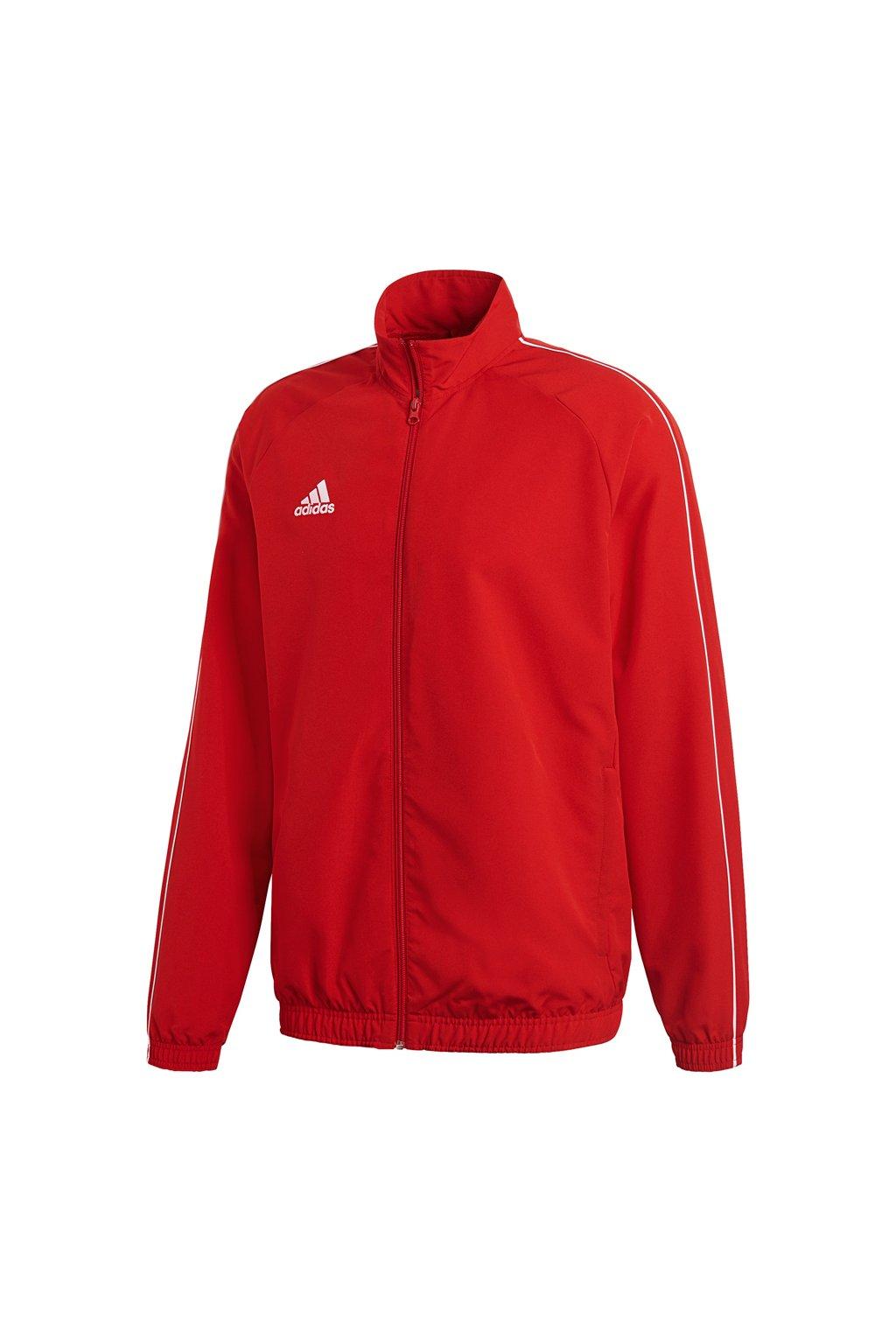 Pánska bunda Adidas Core 18 červená CV3686