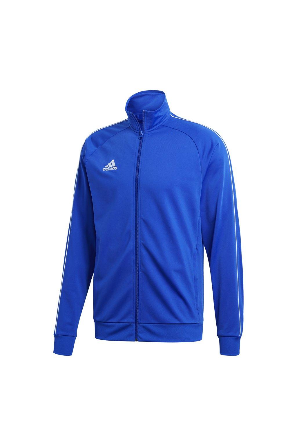 Pánska mikina Adidas Core 18 Polyester modrá CV3564