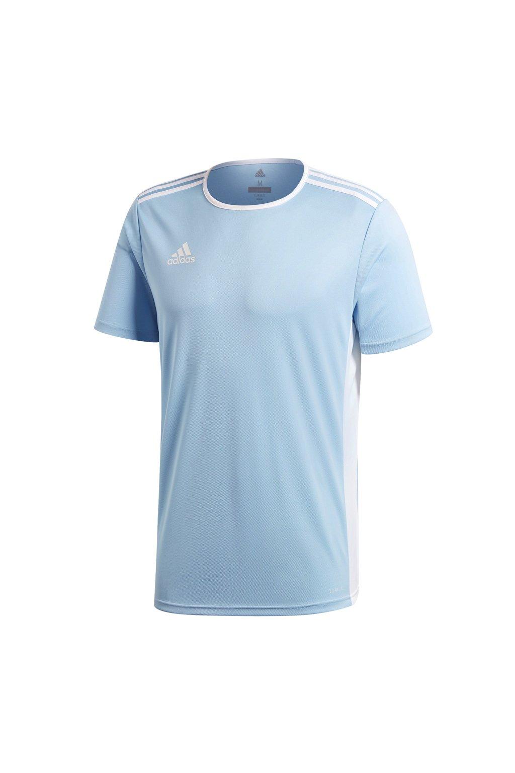 Detské tričko Adidas Entrada 18 Jersey JUNIOR modré CD8414
