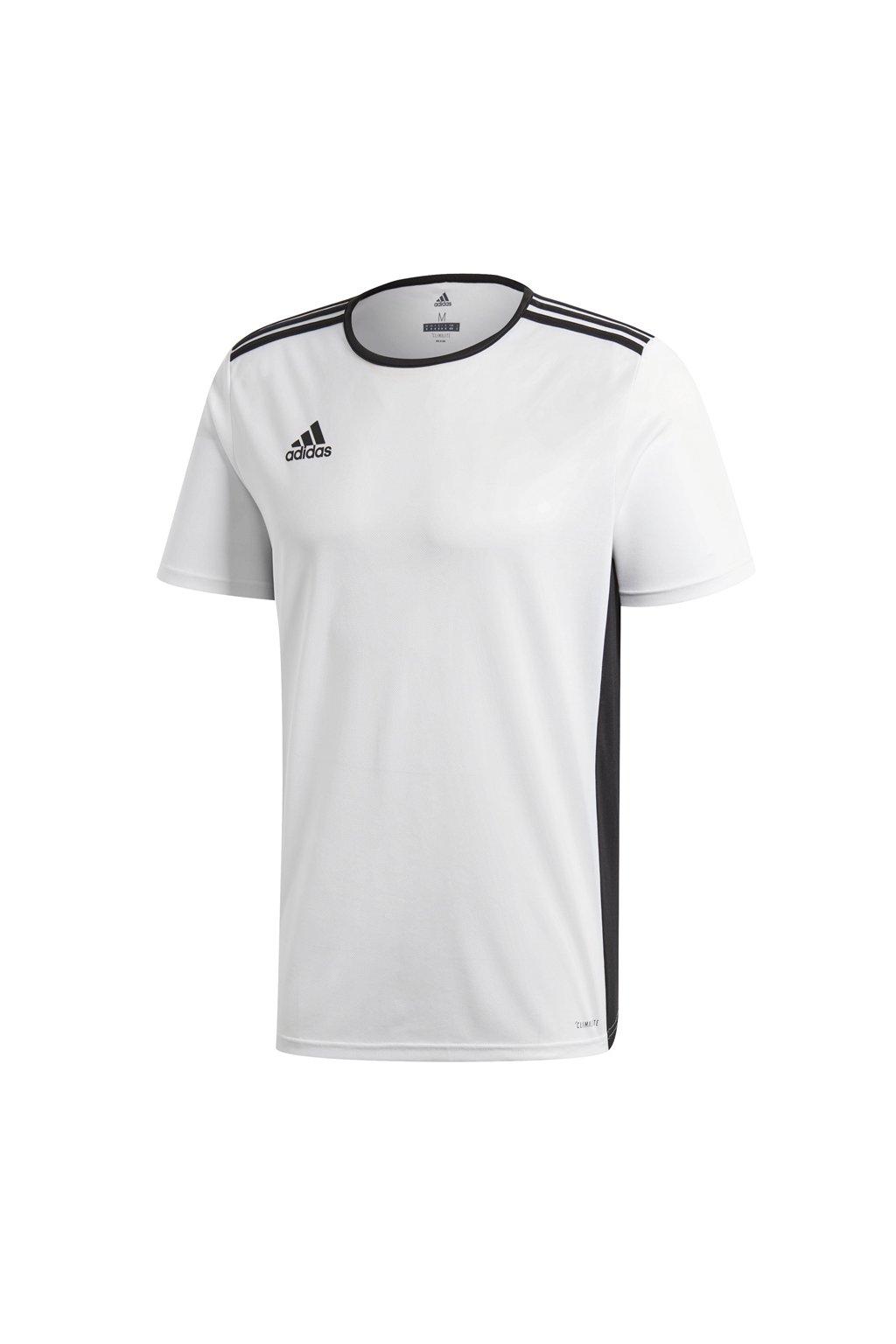 Adidas Entrada 18 Jersey pánske biele tričko CD8438