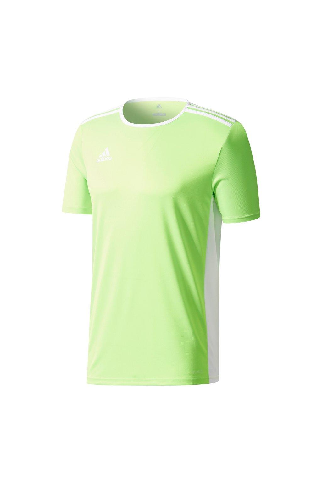 Detské tričko Adidas Entrada 18 Jersey JUNIOR limetka CE9758